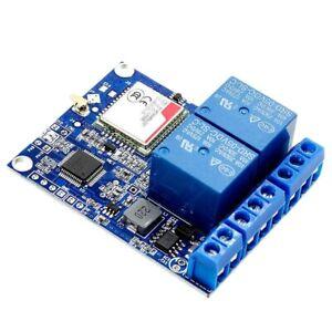 1X (SMS GSM Telecomando Interruttore Sim800C Stm32F103C8T6 2 Channel Relay modulari G4O7