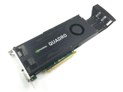 D5R4G DELL NVIDIA QUADRO K4000 3GB GDDR5 PCI-E 2.0 X16 VIDEO CARD