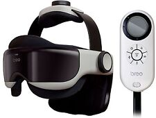 Breo iDream 1260 Eye & Head Massager w Infrared Heat Compression Soothing Music