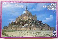 F. X. Schmid Mont St. Michel 1000 pc Puzzle No. 98187.0 Kinkelin  Wirz