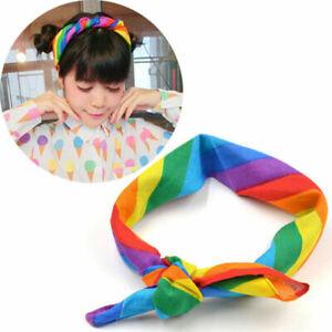 Cute-Soft-Cotton-Rainbow-Color-Bandanas-Headband-Face-Mask-Neck-Scarf-Headwear
