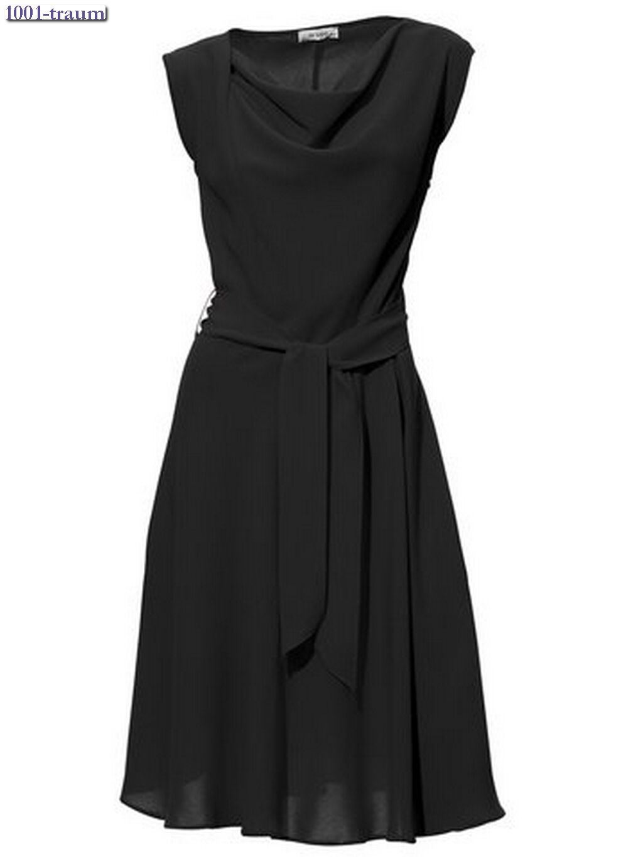 Cocktailkleid Kleid Best Connections Heine schwarz Gr. 34 38 40 NEU