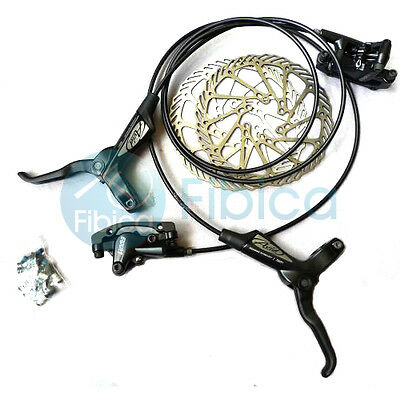 New Avid Elixir 1 Mountain Hydraulic Disc Brake+G3 rotor set black