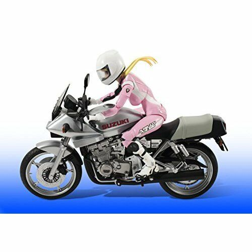 Bakuon Rin Suzunoki with Suzuki GSX400S Katana motorcycle Figure NEW Japan