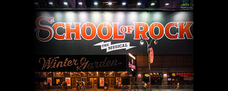 School of Rock The Musical Detroit