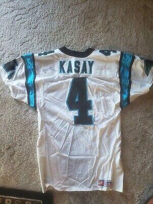 Carolina Panthers 1997 Game Jersey Worn by #4 John Kasay Autographed!   eBay