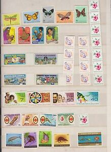 Papua-New-Guinea-Stamp-lot-K-337