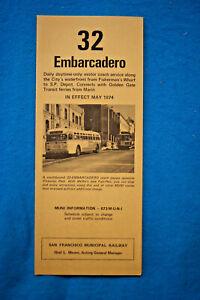 San-Francisco-Muni-Timetable-Embarcadero-Line-32-May-1974