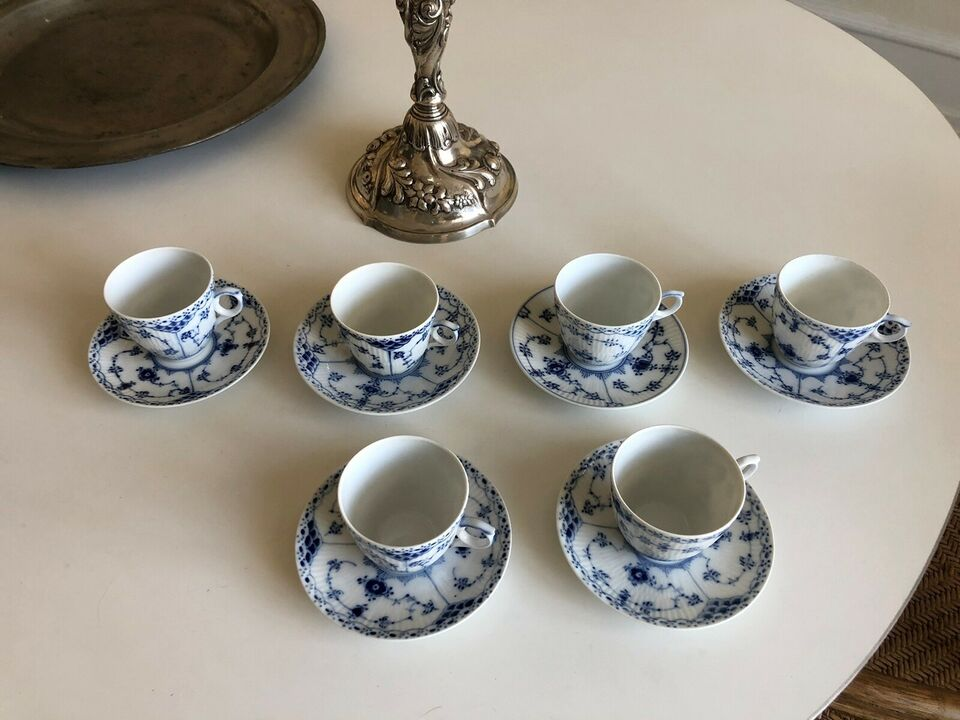 Porcelæn, Kaffekop, underkop