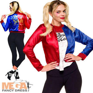 Harley Quinn Ladies Fancy Dress Suicide Squad Halloween Womens