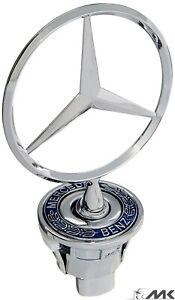 44mm-Emblem-Stern-Motorhaube-Logo-fuer-Mercedes-Benz-W202-W203-W210-W211-W220