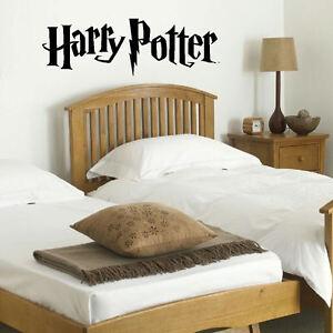Dettagli su Grandi Harry Potter Cucina Camera Da Letto Murale Parete  Gigante ARTE Adesivo Vinile Opaco Decalcomania- mostra il titolo originale