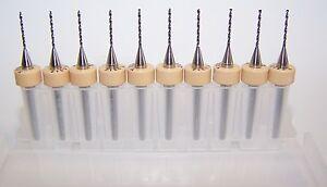 ".0312/"" PCB 1//32/"" Kyocera 100.0312.400 Carbide Printed Circuit Board Drills"