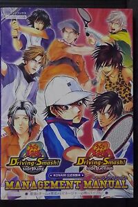 JAPAN-Prince-of-Tennis-Driving-Smash-Management-Manual-W-Special-bromide-Book