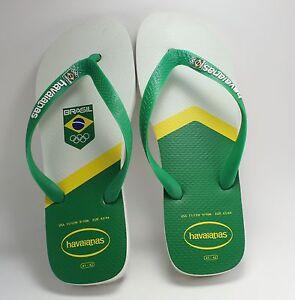 7990d2fe677 Havaianas Flip Flops 2016 Brasil Rio Olympics Size 11 12 W - 9 10 M ...