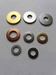Din 125 Kupfer 10,5 Unterlegscheiben  NEU 20 Stück