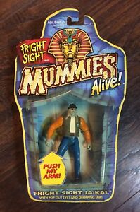 NEW-1997-Kenner-Mummies-Alive-FRIGHT-SIGHT-JA-KAL-Collectible-Action-Figure