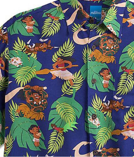 NEW Disney Reyn Spooner Moana Hawaiian Camp Shirt Casual Men/'s S M L XL 2XL 3XL