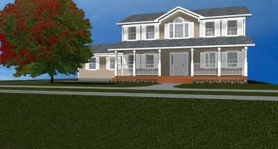 Beautiful 1-Story Basement House Plan 2,376 SF