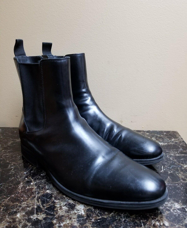 Cole Haan Warren pour Homme Imperméable Bottine Chelsea Taille 12 M Noir C20707