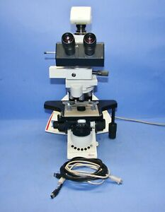 Used-Leica-DM-3000-Ergonomic-System-Microscope-Intelligent-Automation-w-DFC-420