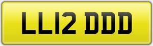 LIDD-CAR-REG-NUMBER-PLATE-LL12-DDD-ALL-FEES-PAID-Liddie-Lid-Liddy-Lydia-Lidia