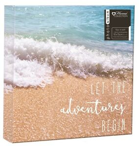 Beach-Photo-Album-Travel-Family-Holiday-Design-Holds-200-4-x-6-034-Photographs-TRFB