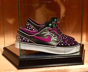 Details about Michael Jordan Signed PROMO Nike SB Janowski Skateboard Deunbecher Shoes JSA NBA