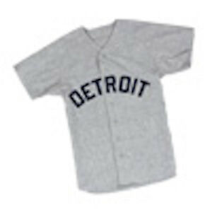 official photos 095a9 ce6d1 Details about Detroit Tigers 1968 Replica Road Jersey SGA 50th Anniversary