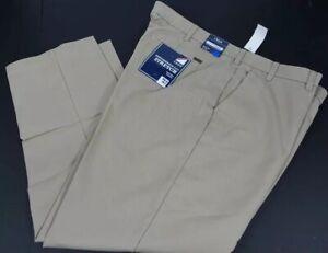 New-Mens-IZOD-Performance-Plus-Stretch-Sportflex-Waistband-Pants-Size-48-x-30