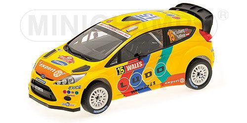 Minichamps Ford Fiesta RS WRC STOBART negó menor Gales Rally 2011-151 110815