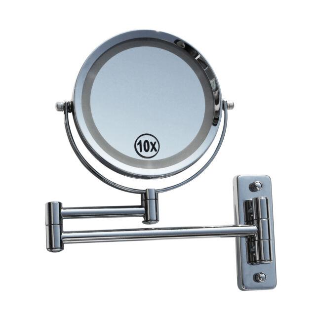 Led Schminkspiegel Make Up Spiegel Kosmetikspiegel Beleuchtung 10 Fach 405261
