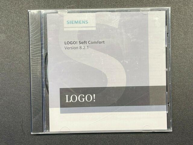 Siemens LOGO Programmier Software Soft Comfort V 8.2.1 NEU nicht ausgepackt