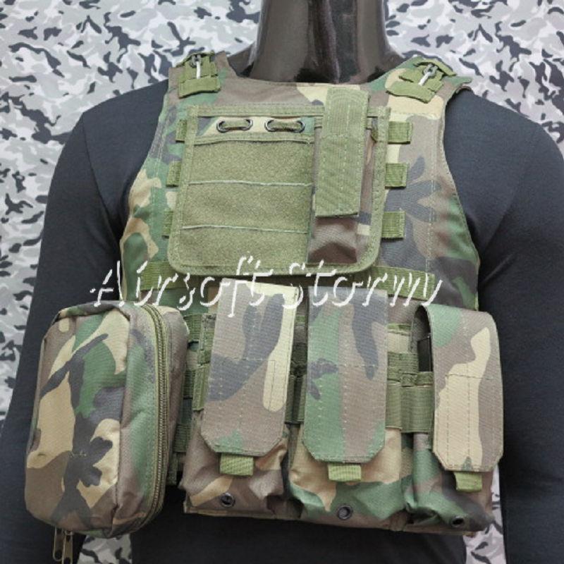 Airmorbido Gear Molle Assault Plate autorier Combat Vest legnale Camo