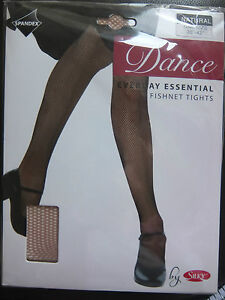 6ea0aab0f6345 Natural/Tan Silky footed fishnet dance tights - adult and child size ...