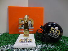 Super Bowl 50 Pocket Pro Mini Lombardi Trophy With Stand