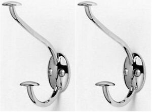 Stratford Chrome Hat /& Coat Hook by Spectrum The Storage Store 75670