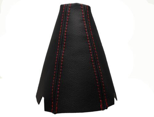 100/% Piel Costuras Rojo Funda Palanca de Cambio 2002-2008 HONDA ACCORD VII
