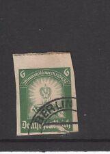 GERMANY WINTERHILFSWERK 1934/35 POSTCARD PAPER STAMP