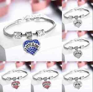 Love-Crystal-Heart-Best-Friend-Letter-Words-Pendant-Bracelets-Chain-Family-Gift