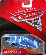 CARS 3 - DUD THROTTLEMAN racer MOOD SPRINGS TEAM -  Mattel Disney Pixar