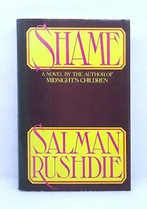 First-American-Edition-Shame-by-Salman-Rushdie-hardcover-dust-jacket-1983-Knopf