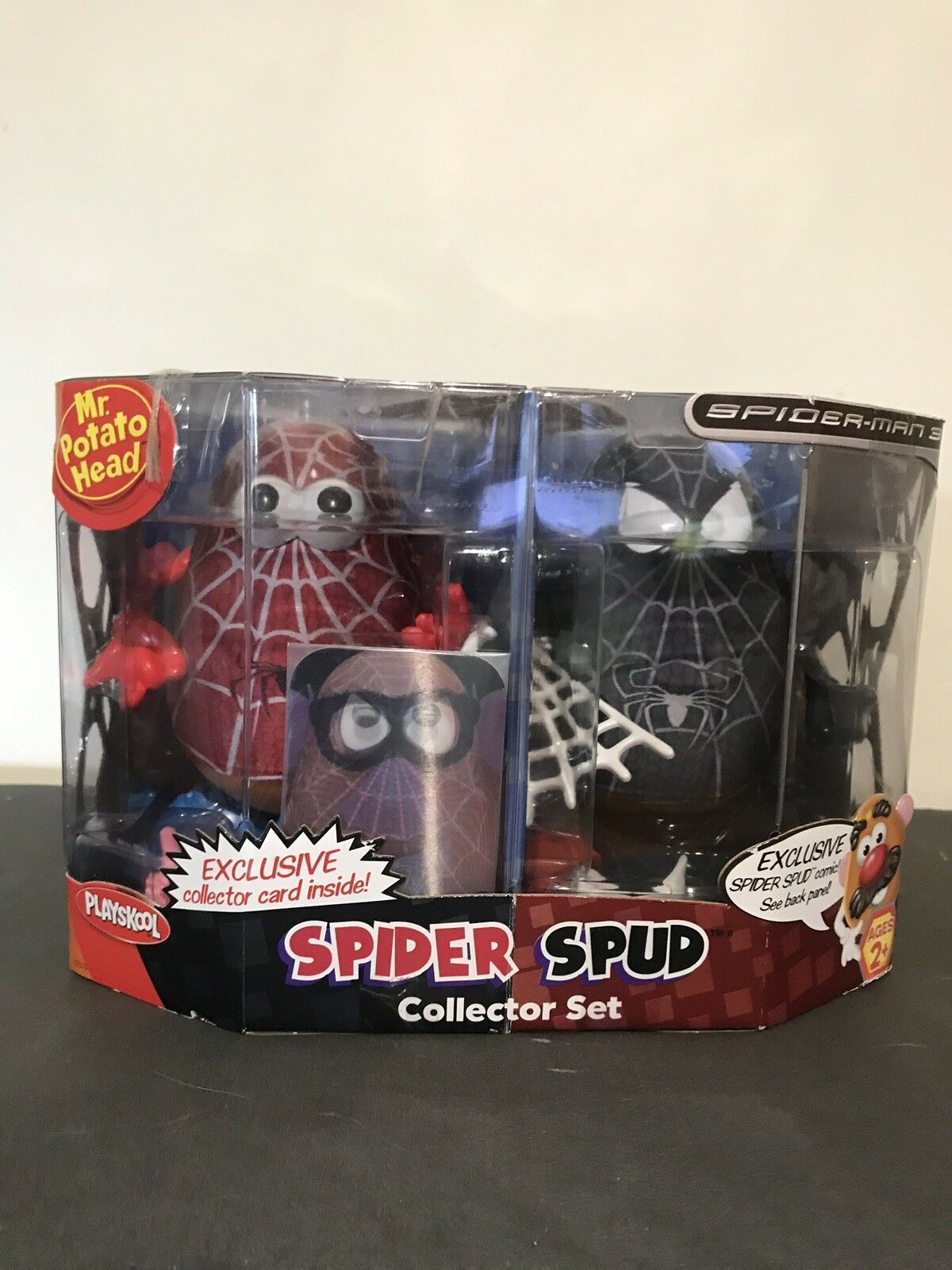 "Mr Potato Head ""Spiderman - Spider Spud"" Collector Set"
