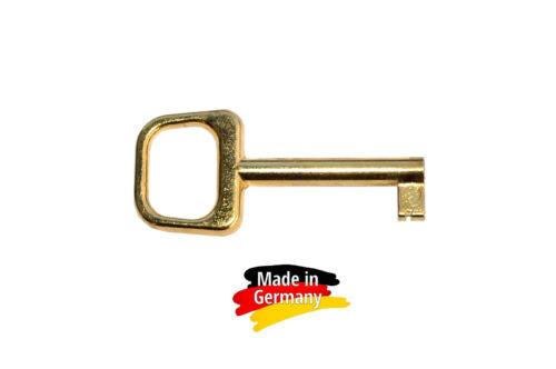#5 Furniture Key vermessingt 61 MM-No 009 5 pcs