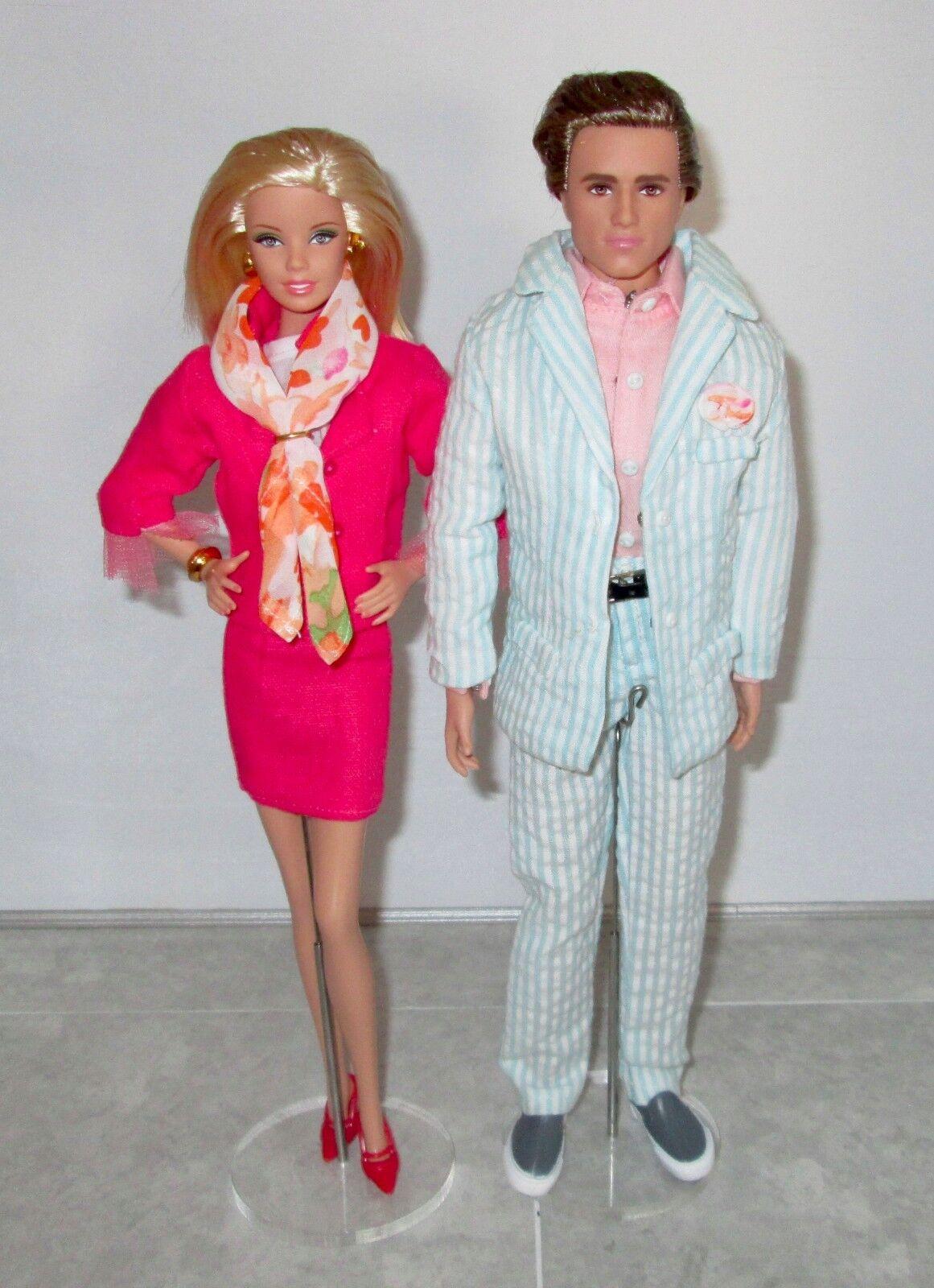 Tema De Boda kenvention par de Barbie y Ken pieza central de luna de miel