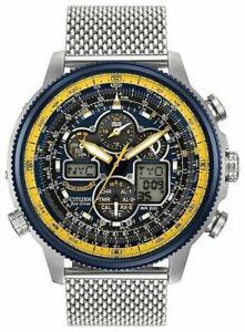 Citizen-Men-s-Eco-Drive-Blue-Angel-Navihawk-AT-Chrono-World-Watch-JY8031-56L