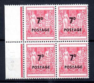 New-Zealand-1964-7d-Arms-mint-LHM-block-SG825-WS9617