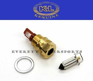 Details about Carburetor Float Valve 98-01 VT750 Shadow ACE 01-07 Spirit  Carb Needle Seat #R96