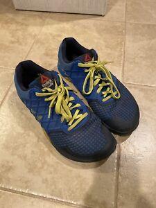 Reebok-Mens-Crossfit-Nano-4-0-Training-Shoes-Blue-M43437-Sz-9-5-42-5