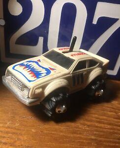 VTG-1982-Rough-Riders-MAKO-SHARK-Tri-Ex-4x4-LJN-TOYS-NY-Race-CAR-Red-White-Blue